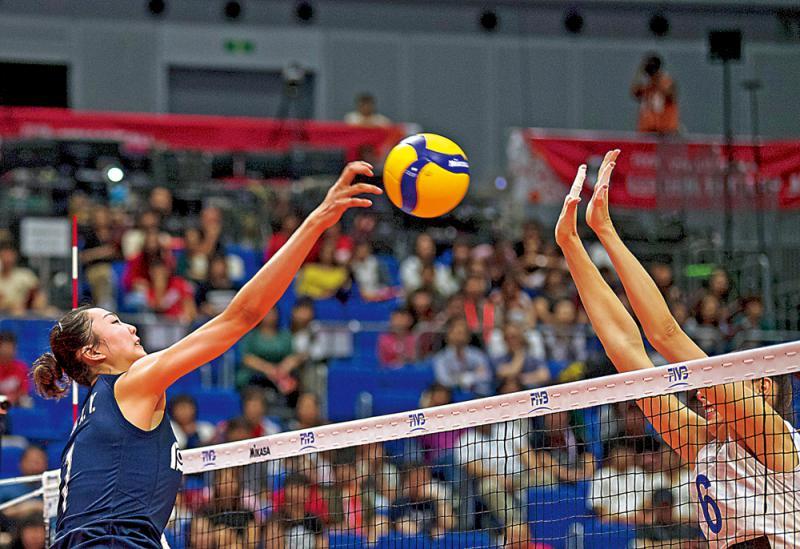 ?女排世界盃\中国女排今迎战多米尼加