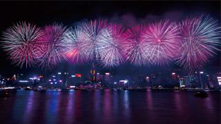 基于公众安全考虑 香港取消今年国庆烟花汇演