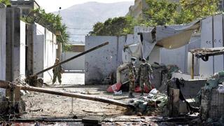 ?阿总统出席竞选集会遇袭 塔利班认责