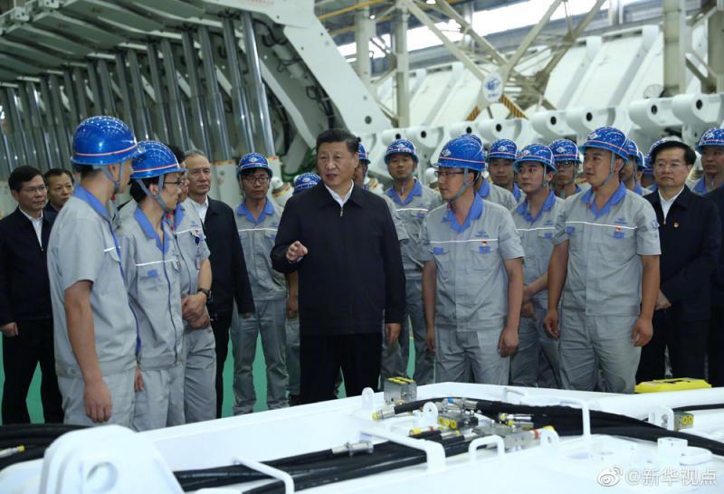 ?习近平:把我国製造业搞上去