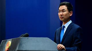 外交部:敦促美方停止干预香港事务