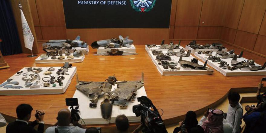 沙特展示导弹残骸 指称伊朗赞助袭击