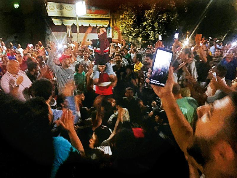 埃及民眾要求總統下台