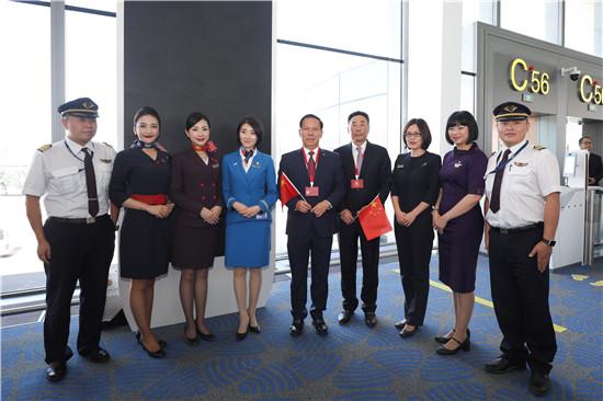 大兴机场正式投运 东航执飞首航航班