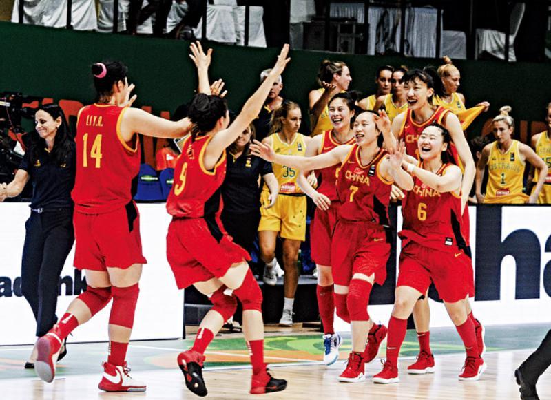 ?续创佳绩\中国女篮亚盃三连胜入四强