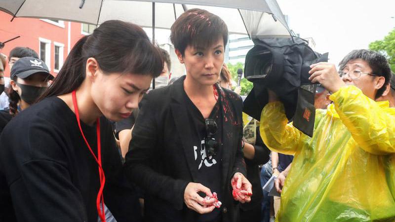 台各界怒吼:港暴徒滚出台湾