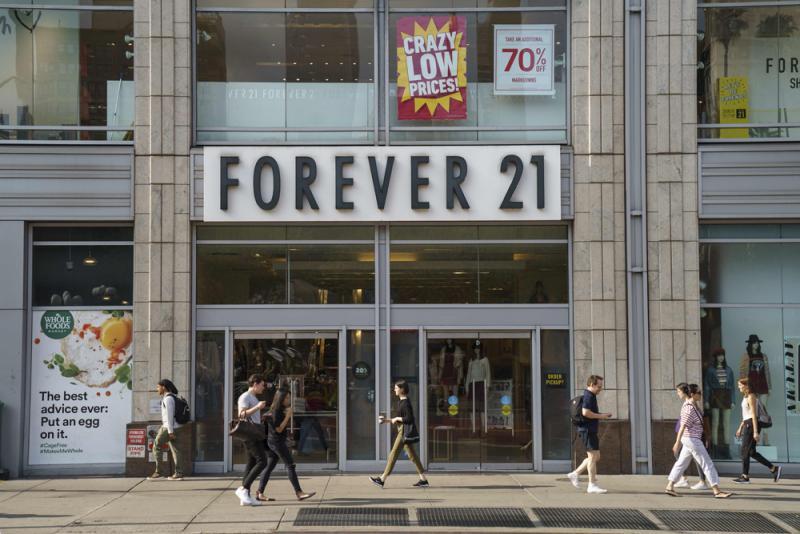 ?国际经济/竞争大扩充急  Forever 21申破产/大公报记者李耀华