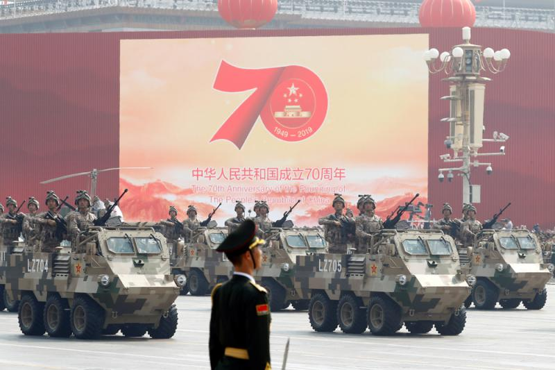 ?外媒热议新中国成立70周年阅兵