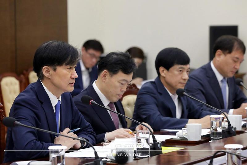 ?韩检察部门权力过大 文在寅促改革