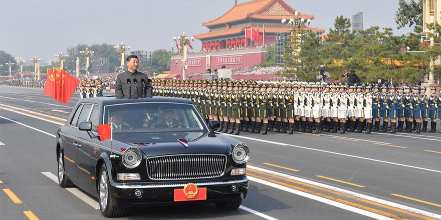 习近平:没有任何力量能阻挡中华民族前进