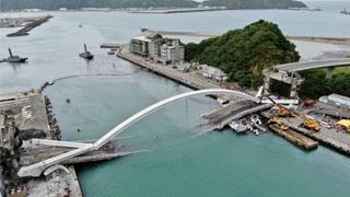 臺灣宜蘭橋梁坍塌意外失聯者全被尋獲 6人遇難