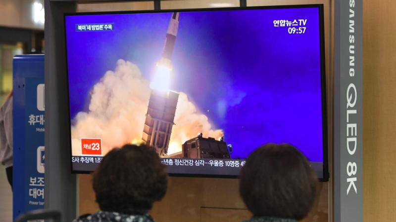 ?美朝谈判前 平壤再试潜射导弹