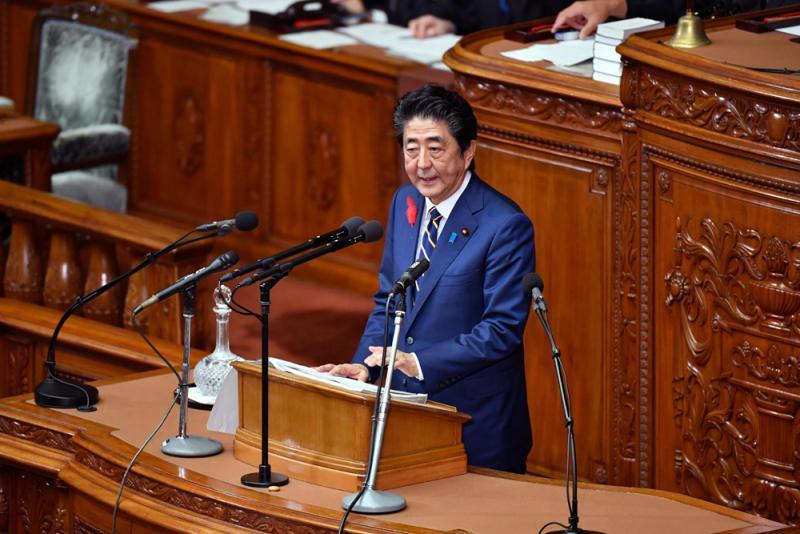 新國會開鑼 安倍演講促討論修憲