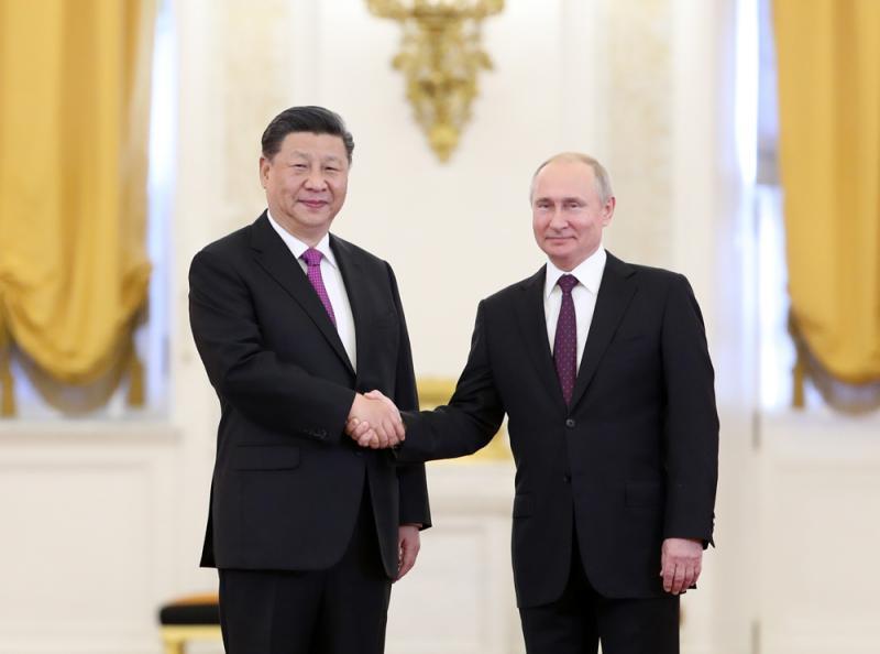 中俄攜手70載 走向大國復興