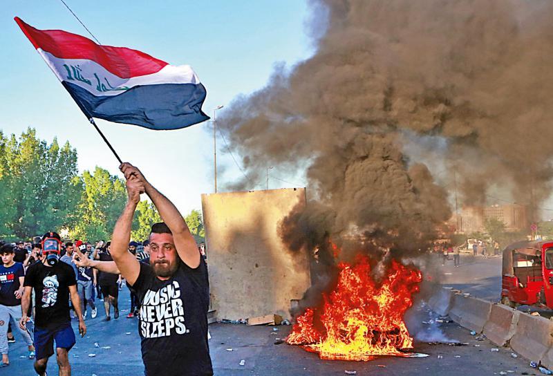 伊拉克示威近百死 第一大党要求重选