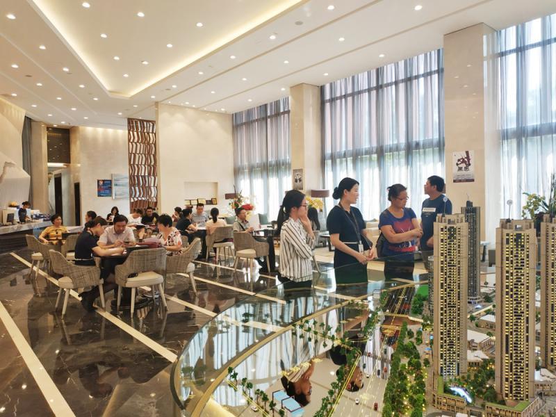 降价力度大 广州郊区楼盘人气旺