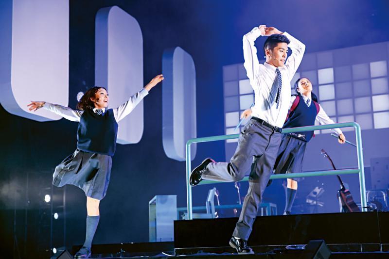 今年香港藝術節上的《陪着你走》音樂劇首輪演出