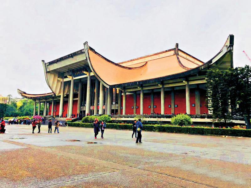 台當局「去中」 謀拆孫中山紀念館圍牆