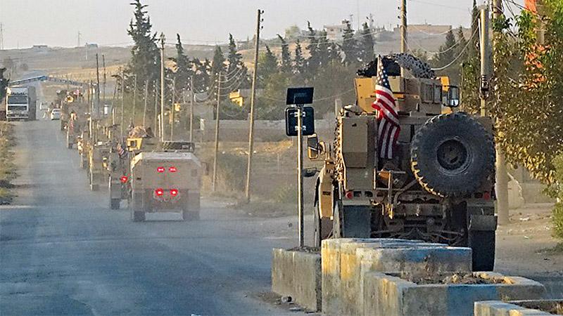 美宣布从叙北撤军 土耳其拟出兵填空