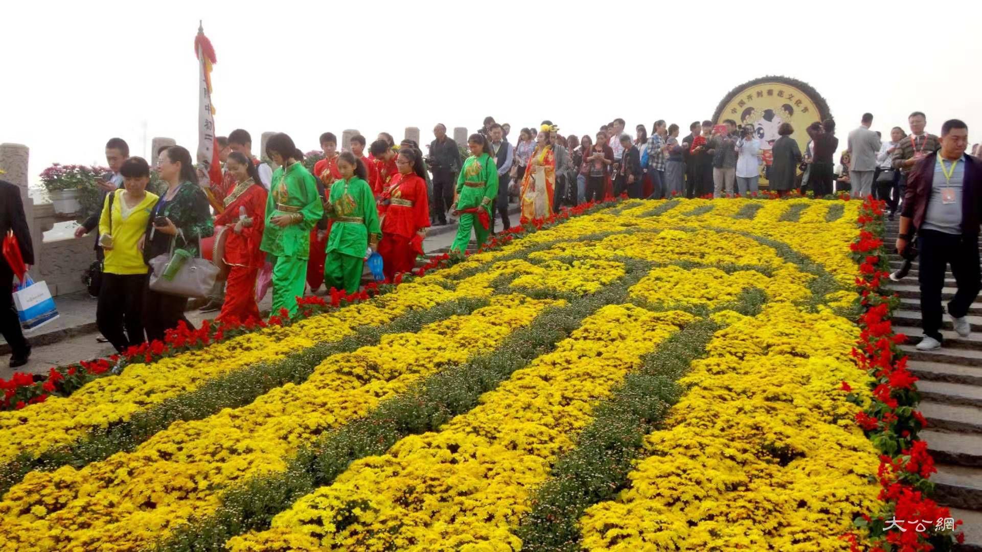 中國開封第37屆菊花文化節18日將開幕 歷時1個月