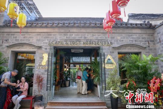 千年古巷南京熙南里歷史文化街區。 徐珊珊 攝
