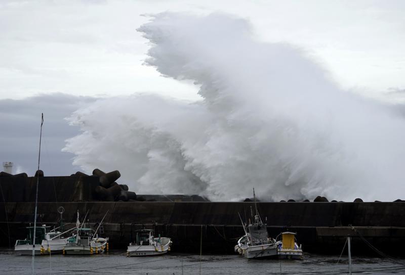 """最强颱风""""海贝思""""来袭 日本严阵以待"""
