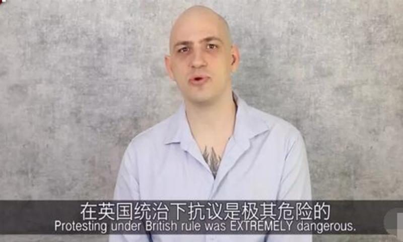 美网友仗义执言:看看英国警察杀了多少香港人