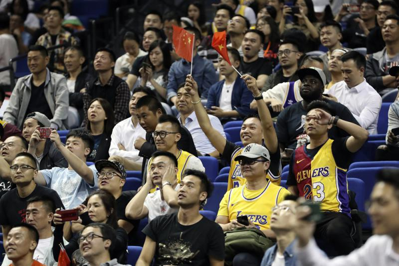 谈NBA事件 京:相互尊重是合作前提