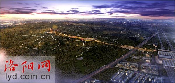 洛陽龍門西山將新增一處大型公園