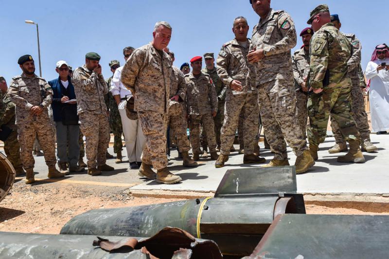 """美向沙特增1800兵 """"爱国者""""""""萨德""""进驻"""