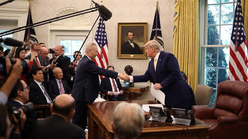 ?中美贸战/贸谈初达协议 二万亿华货停加税