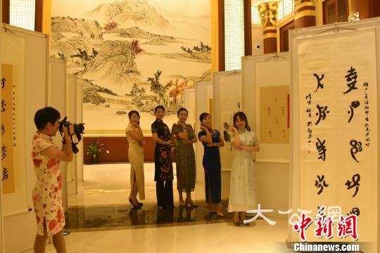 湖南江永女书举行文化旅游周 展示女书文化传承与创新