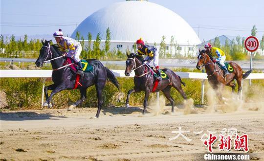 2019新疆庫爾勒香梨節·速度賽馬系列賽火熱開賽