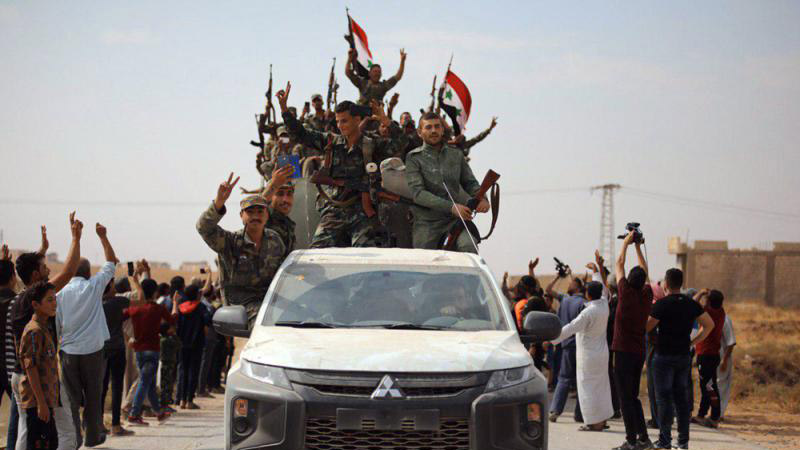 ?庫族武裝向敘政府投誠 聯手抗土