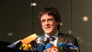 西班牙发布国际通缉令 寻求引渡前加泰罗尼亚主席