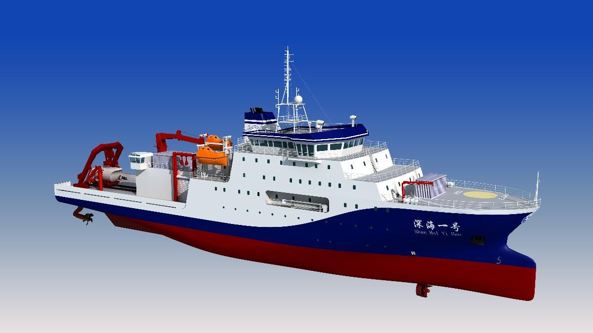 海博会大国重器集中亮相 深海一号年内将交付使用