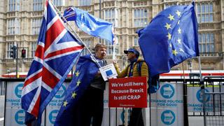 """?欧盟下""""最后通牒"""" 逼英让步"""