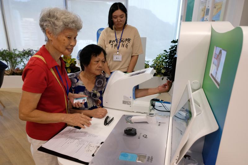 11区设康健站加强基层医疗