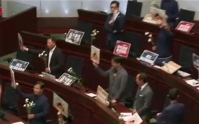 建制派议员批评纵暴派阻扰行政长官答问会