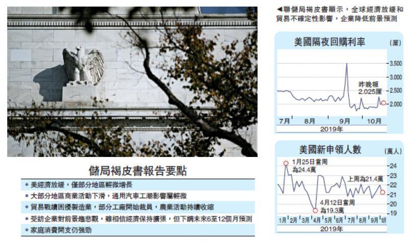 ?國際經濟\貿戰自殘經濟 美本月八成機會減息\大公報記者 黃美琪