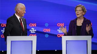 美国大选|?沃伦强势崛起 民主党三足鼎立