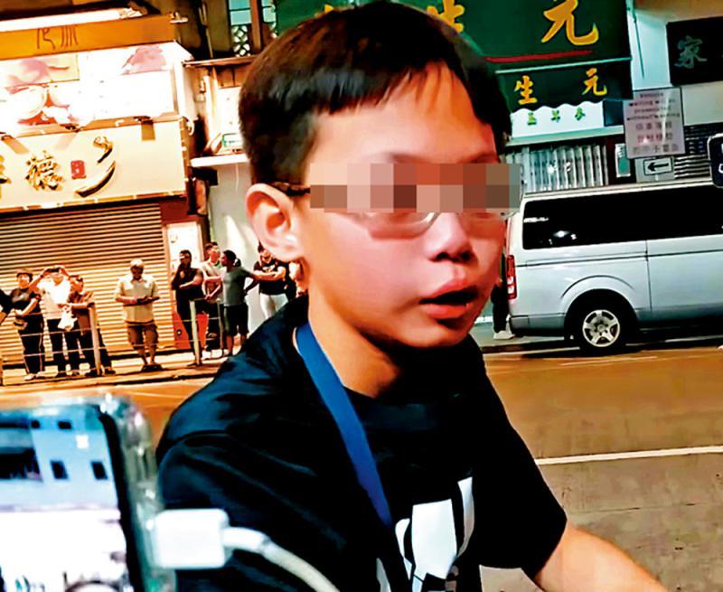 痛心 「黃師」洗腦 11歲仔盲目仇警