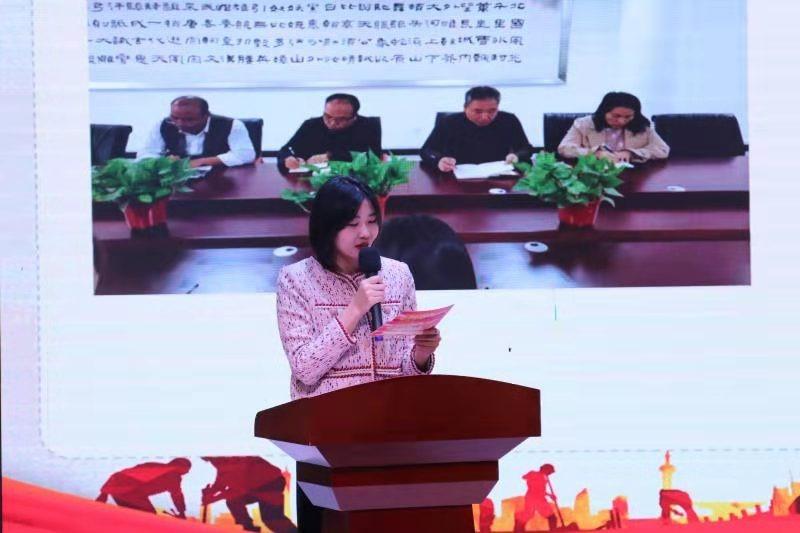 中牟县文化广电旅游局 举行优秀党员先进事迹分享活动