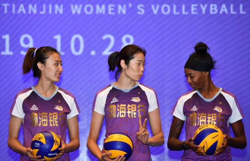 ?朱婷率天津女排衝聯賽12冠