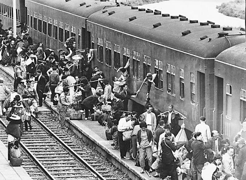?香江憶記\非空調火車 充滿人情味\過來人