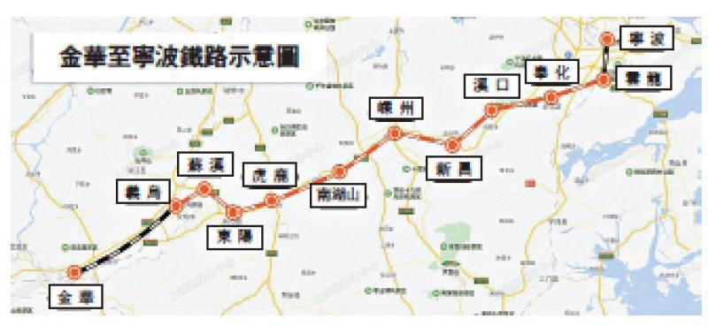?金华至宁波铁路开建 促长三角一体化