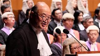马道立:港人享人权及自由 体现法治真正存在