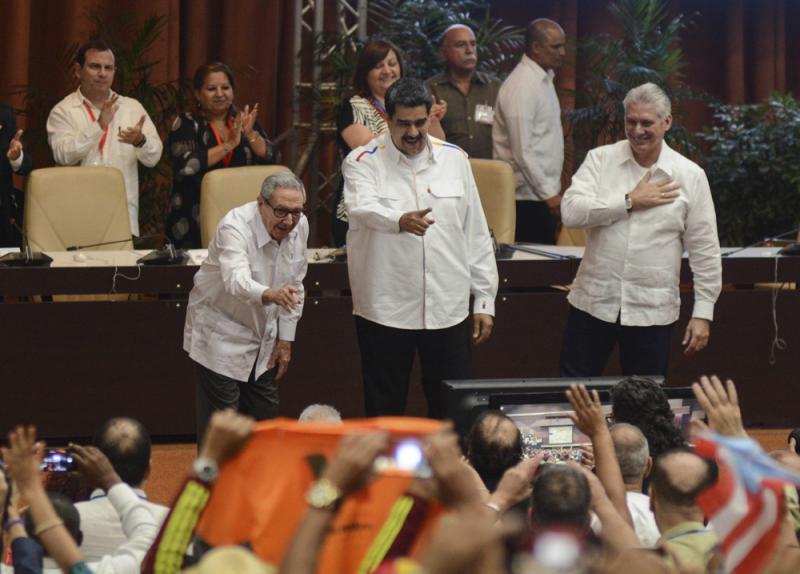 ?委萨互驱使节 马杜罗联手古巴抗美