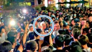 港科大学生围骂校长逾五小时 迫谴责警方