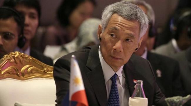 """新加坡總理:香港問題須在""""一國兩制""""框架下解決"""